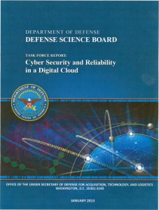 Editing project for the Defense Science Board