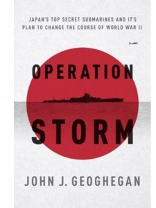 Book about secret Japanese submarine aircraft carrier in WWII