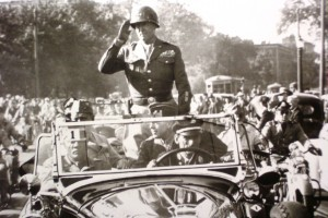Patton's driver in WWII
